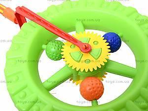 Детская каталка-колесо на палке, 019, купить