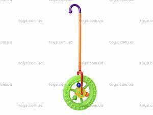 Детская каталка-колесо на палке, 019, детские игрушки
