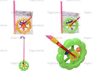 Каталка-колесо на палке для детей, 059B