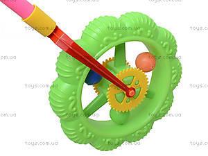 Каталка-колесо на палке для детей, 059B, игрушки