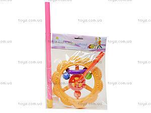 Каталка-колесо на палке для детей, 059B, магазин игрушек