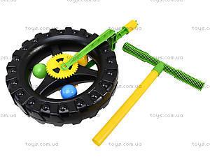 Детская каталка-колесо с ручкой, 06-605, фото