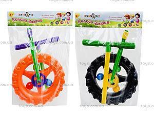 Детская каталка-колесо с ручкой, 06-605