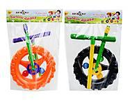 Детская каталка-колесо с ручкой, 06-605, купить