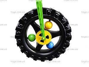 Детская каталка-колесо с ручкой, 06-605, игрушки
