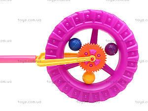 Каталка-колесо на палке, PF059C, купить