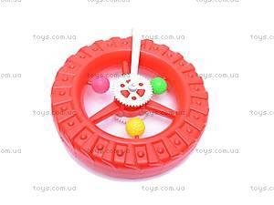 Каталка-колесо, с ручкой, 3100, фото