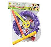 Каталка «Колесо - забава» (фиолетовая), KW-06-605, купить