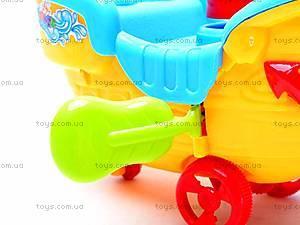 Каталка «Корабль», 268-G12, детские игрушки
