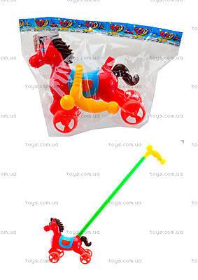 Лошадка-каталка с палкой, 303-1