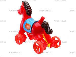 Лошадка-каталка с палкой, 303-1, цена