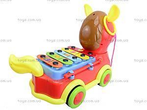 Каталка-ксилофон «Лошадка», FL098017W1/2, купить
