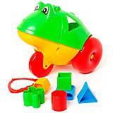 Каталка логика «Лягушка» (зелёная), 302, купить
