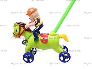 Каталка-лошадка на палке, 298-F15, цена