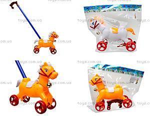 Каталка-лошадка с палкой, 850-20