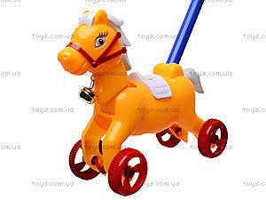 Каталка-лошадка с палкой, 850-20, отзывы