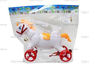 Каталка-лошадка с палкой, 850-20, детские игрушки