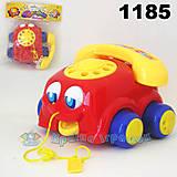 Детская игрушка-каталка «Машина», 1185, интернет магазин22 игрушки Украина