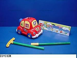 Каталка «Машинка», с ручкой, 1186, купить