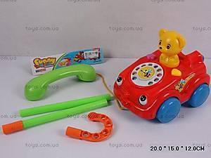 Каталка «Машинка-телефон», 769-1K