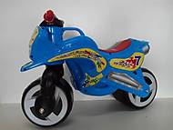 Детская каталка мотоцикл, 11-006, купить
