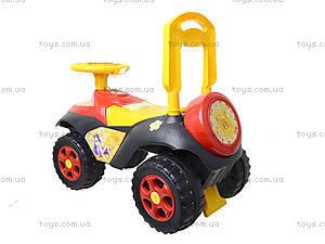 Каталка музыкальная «Автошка», 013117R,U08, купить игрушку