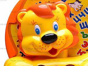 Каталка-обучалка «Львенок», 9197, игрушки