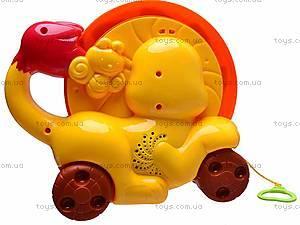 Каталка-обучалка «Львенок», 9197, детские игрушки