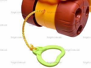 Каталка-обучалка «Львенок», 9197, магазин игрушек