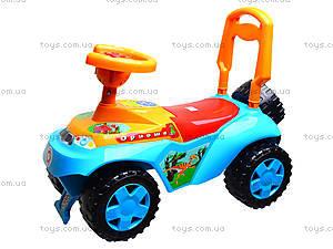 Детская каталка «Ориоша», 140РУ, игрушки
