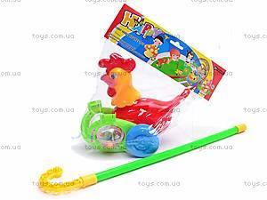 Каталка-петух, 7105, игрушки