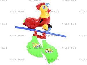 Каталка «Петушок», 1201, детские игрушки