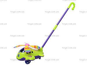 Каталка для малышей «Вертолет на палке», 1189, игрушки