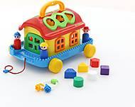 Каталка «Сказочный домик на колёсиках», 48769, купить