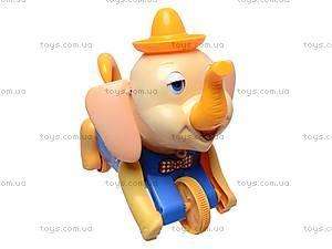 Каталка «Слоненок», 268A, игрушки