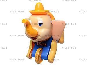 Каталка «Слоненок», 268A, детские игрушки