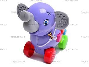 Каталка-слоник, 3007A, фото