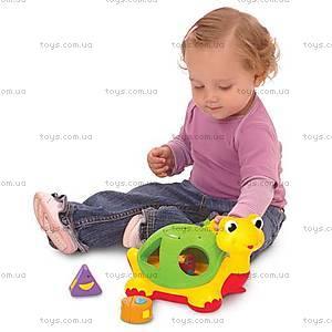 Детская каталка-сортер «Черепаха Знайка», 053470