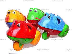 Каталка-сортер «Жабка», 302, детские игрушки