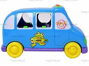 Каталка-сортер «Волшебный автобус», 1340E, игрушки