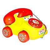 Каталка «Телефон» маленький желтый, 5105, купить