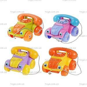 Игрушка-каталка «Телефон», 5106
