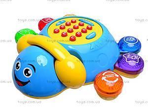 Каталка-телефон «Умный жук», MS1006