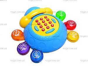 Каталка-телефон «Умный жук», MS1006, цена