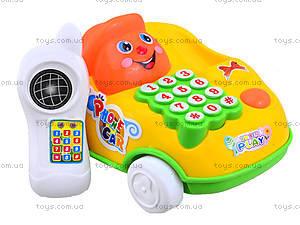 Детская игрушка-каталка «Телефон», 28008, отзывы