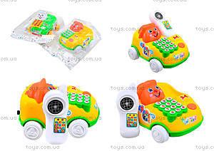 Детская игрушка-каталка «Телефон», 28008