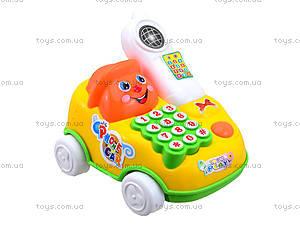 Детская игрушка-каталка «Телефон», 28008, цена