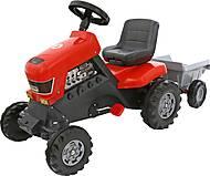 Каталка-трактор с педалями «Turbo», 52681