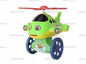 Детская игрушка-каталка на палочке, вертолет, 1803-16, цена