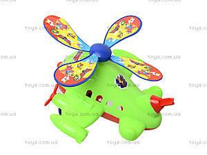 Игрушка каталка - вертолет на палке, 928-3, игрушки